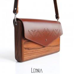 Geanta Lemnia - Inima