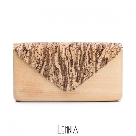 Geanta Lemnia - White