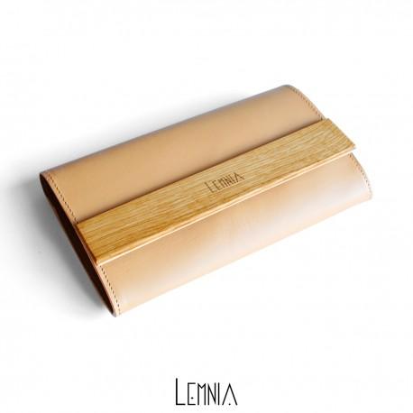 Portofel Lemnia M Beige