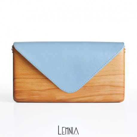 Geanta Lemnia - Azzurra