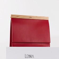 Geanta Lemnia  SS16 - Red