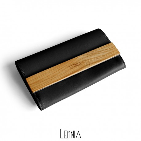 Portofel Lemnia M Black